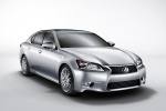 2013 Lexus GS 350 Sedan in Liquid Platinum - Static Front Right Three-quarter View