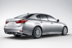 2014 Lexus GS 350 Sedan in Liquid Platinum - Static Rear Right Three-quarter View