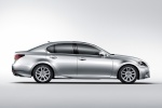 2014 Lexus GS 450h Hybrid Sedan in Liquid Platinum - Static Right Side View