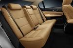 Picture of 2015 Lexus GS 350 Sedan Rear Seats in Flaxen