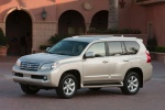 2010 Lexus GX460 in Satin Cashmere Metallic - Static Front Left Three-quarter View