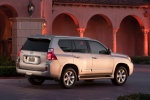 2011 Lexus GX460 in Satin Cashmere Metallic - Static Rear Right Three-quarter View