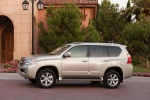 2012 Lexus GX460 in Satin Cashmere Metallic - Static Left Side View