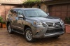 2014 Lexus GX460 in Knights Armor Pearl from a front right view