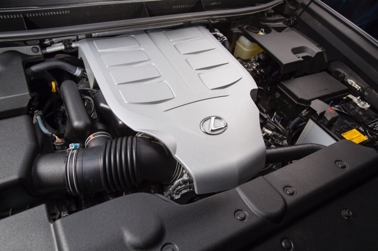 2017 Lexus GX460 4.6-liter V8 Engine Picture