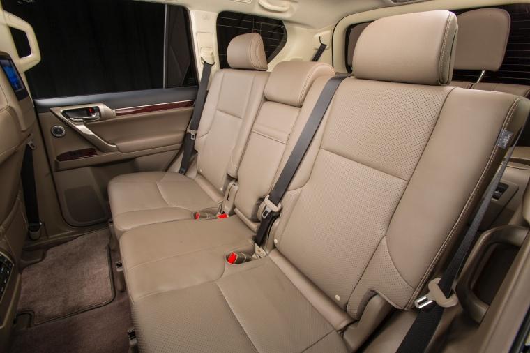 2017 Lexus GX460 Rear Seats Picture