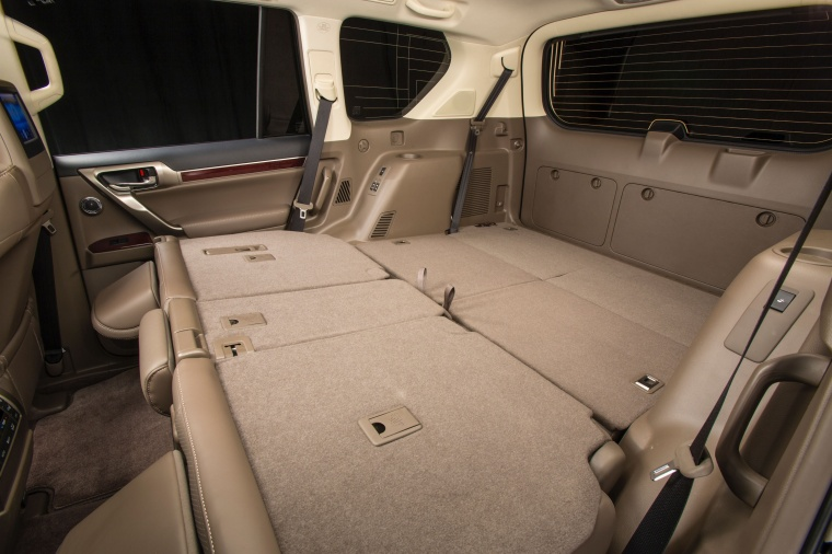 2017 Lexus GX460 Rear Seats Folded Picture