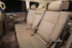 Picture of a 2018 Lexus GX460's Rear Seats in Sepia