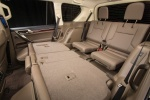 Picture of a 2018 Lexus GX460's Rear Seats Folded in Sepia