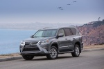 Picture of a 2018 Lexus GX460 in Nebula Gray Pearl from a front left perspective