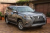 2019 Lexus GX460 in Nebula Gray Pearl from a front right view