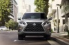 Picture of a 2020 Lexus GX460 in Atomic Silver from a frontal perspective