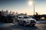 2020 Lexus GX460 in Atomic Silver - Static Front Right Three-quarter View