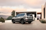 2020 Lexus GX460 in Atomic Silver - Static Rear Left Three-quarter View