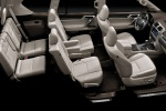 Picture of a 2020 Lexus GX460's Three Row Seating