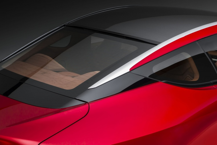 2018 Lexus LC 500 Coupe Rear Window Picture