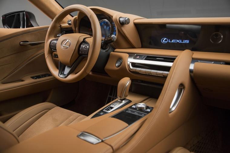 2018 Lexus LC 500 Coupe Interior Picture