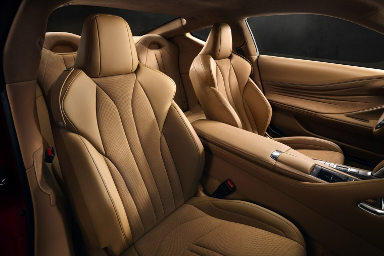 2018 Lexus LC 500 Coupe Front Seats Picture