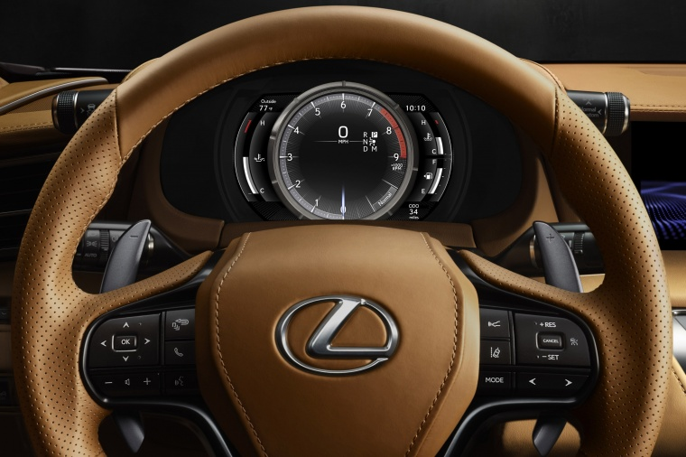 2018 Lexus LC 500 Coupe Gauges Picture