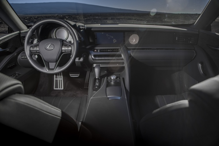 2018 Lexus LC 500 Coupe Cockpit Picture