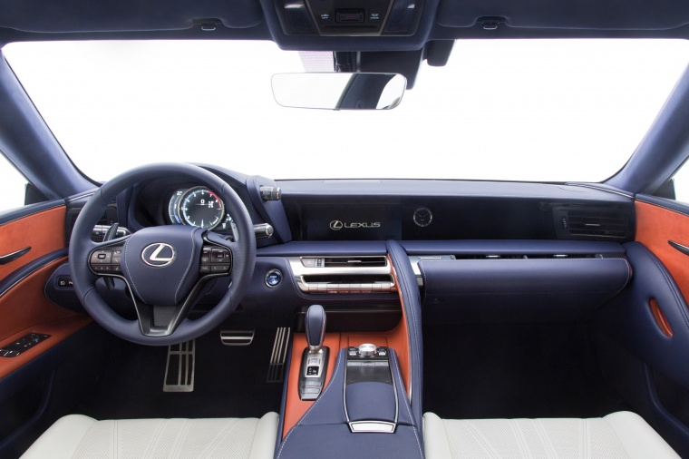 2018 Lexus LC 500h Coupe Cockpit Picture