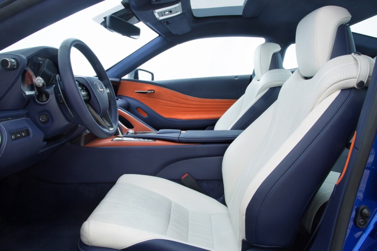 2018 Lexus LC 500h Coupe Front Seats Picture