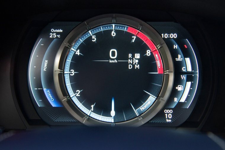 2018 Lexus LC 500h Coupe Gauges Picture