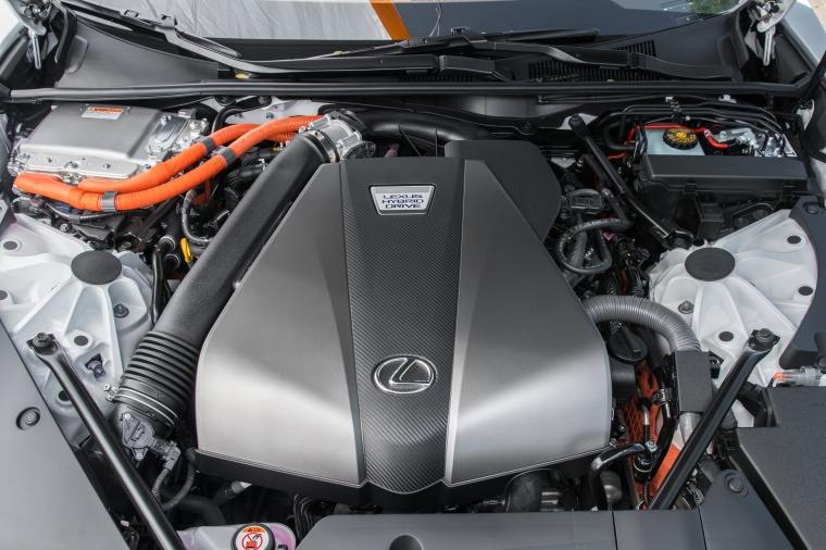 2018 Lexus LC 500h Coupe 3.5-liter V6 Hybrid Engine Picture