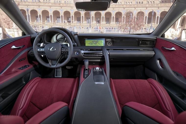 2018 Lexus LC 500h Coupe Cockpit Picture