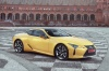 2018 Lexus LC 500 Coupe from a front right three-quarter view