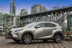 2015 Lexus NX200t in Atomic Silver - Static Front Left Three-quarter View