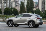 2015 Lexus NX200t in Atomic Silver - Static Rear Left Three-quarter View