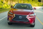 2015 Lexus NX300h in Matador Red Mica - Driving Frontal View