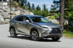 2015 Lexus NX200t in Atomic Silver - Driving Front Right Three-quarter View