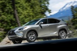 Picture of 2015 Lexus NX200t in Atomic Silver