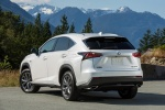 2016 Lexus NX200t F-Sport in Eminent White Pearl - Static Rear Left View