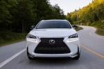 2016 Lexus NX200t F-Sport in Eminent White Pearl - Driving Frontal View