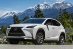 2016 Lexus NX200t F-Sport in Eminent White Pearl - Driving Front Left View