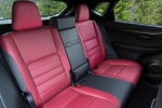 Picture of 2016 Lexus NX200t F-Sport Rear Seats in F-Sport Rioja Red