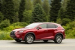 2016 Lexus NX300h in Matador Red Mica - Driving Side View