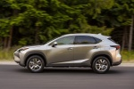 2016 Lexus NX200t in Atomic Silver - Driving Side View