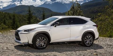 2016 Lexus NX, NX200t, NX300h Hybrid Review