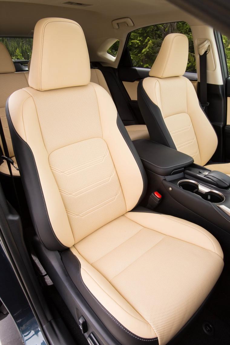 2017 Lexus NX200t Front Seats Picture