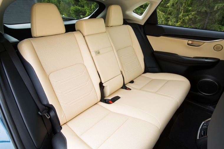 2017 Lexus NX200t Rear Seats Picture
