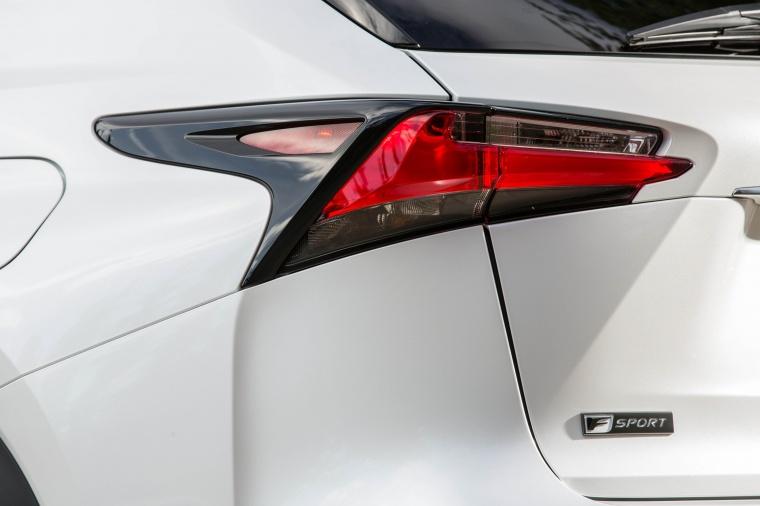 2017 Lexus NX200t F-Sport Tail Light Picture