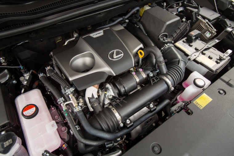 2017 Lexus NX200t F-Sport 2.0-liter 4-cylinder turbocharged Engine Picture