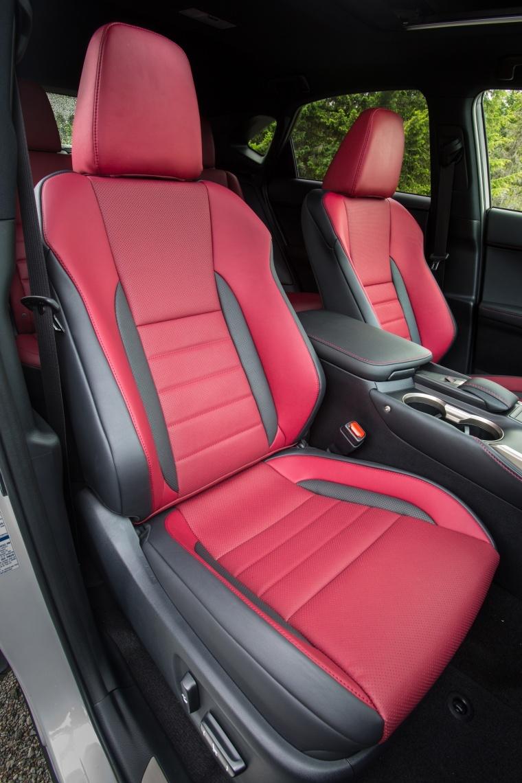 2017 Lexus NX200t F-Sport Front Seats Picture