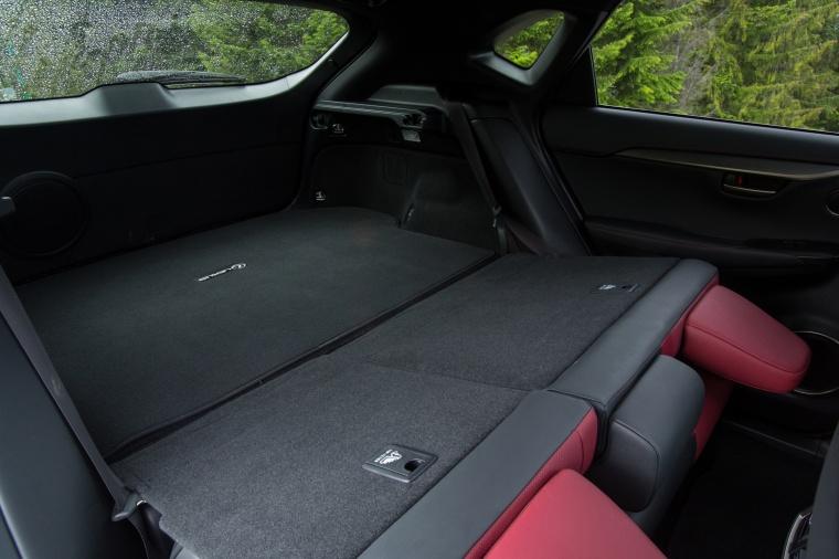 2017 Lexus NX200t F-Sport Rear Seats Folded Picture
