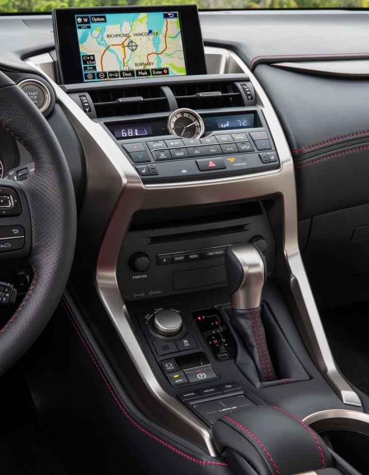 2017 Lexus NX200t F-Sport Center Stack Picture