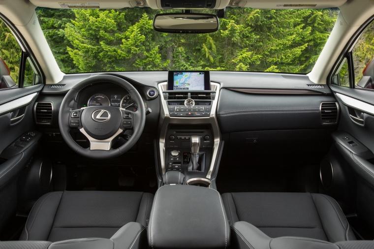 2017 Lexus NX300h Cockpit Picture